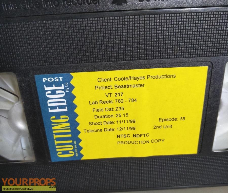 BeastMaster original production material