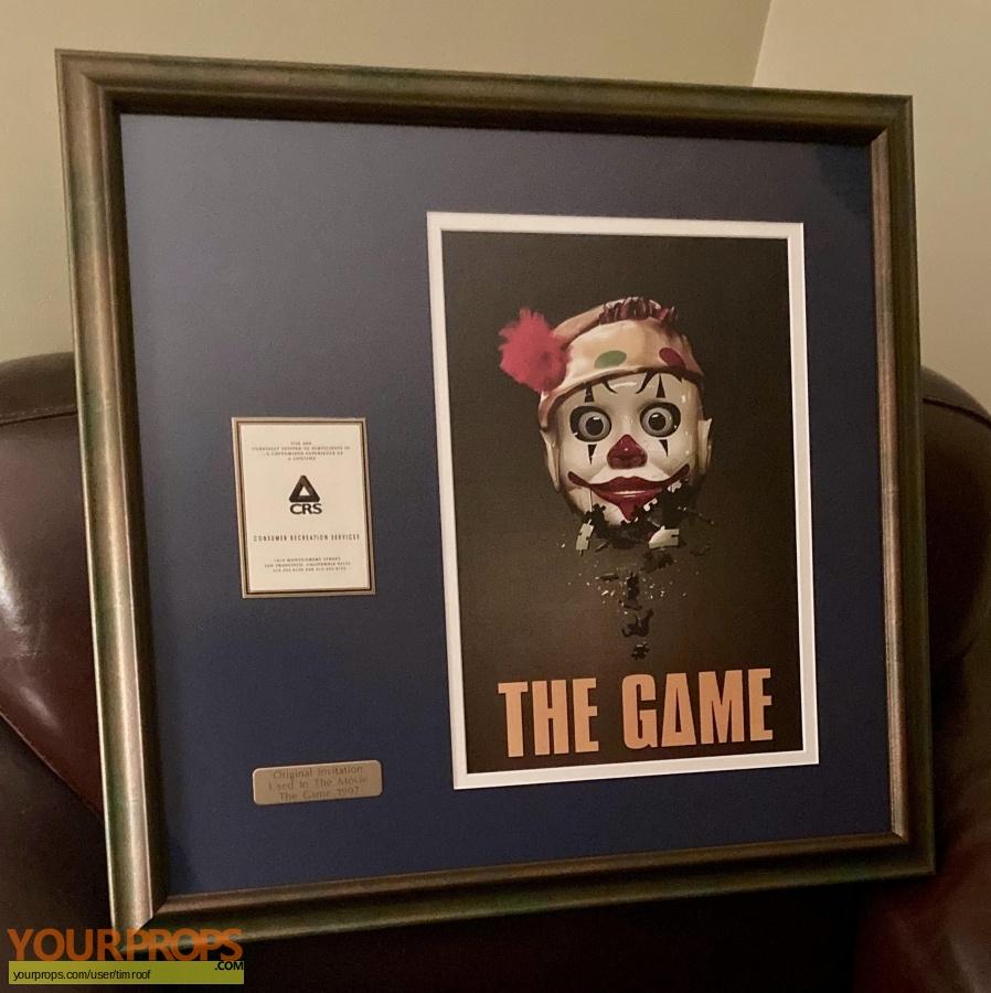The Game original movie prop