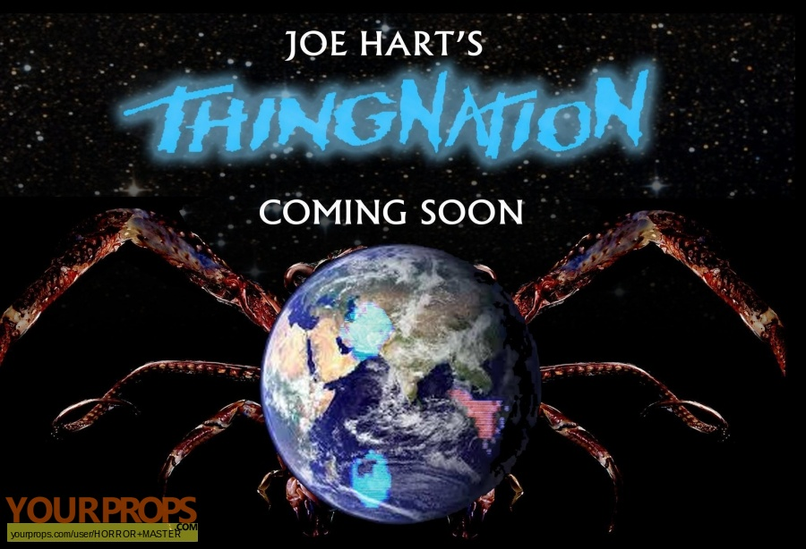 The Thing 1982 original movie prop