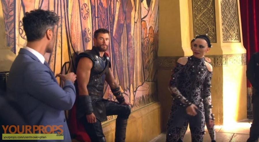 Thor Ragnarok original set dressing   pieces