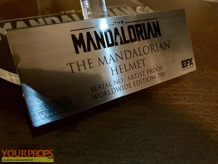 The Mandalorian replica movie prop
