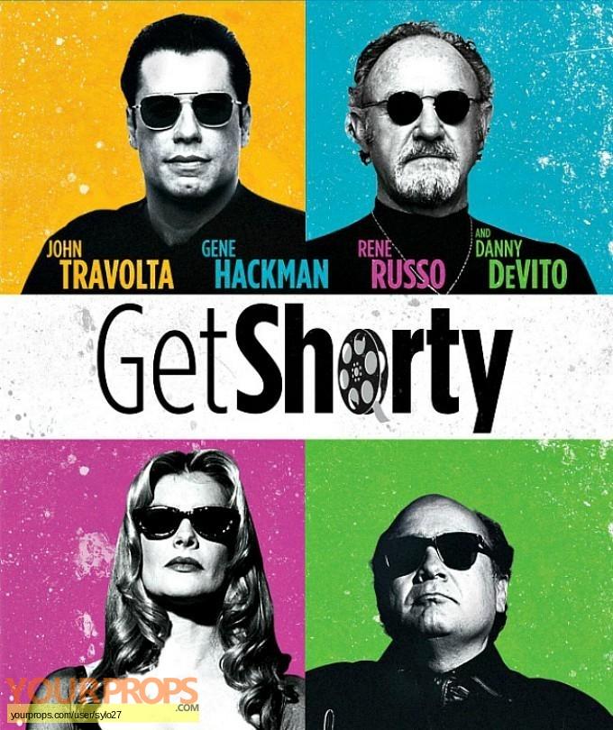 Get Shorty original film-crew items