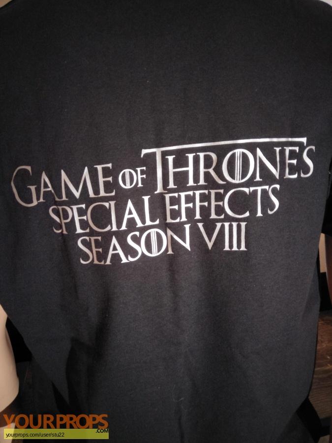 Game of Thrones original film-crew items
