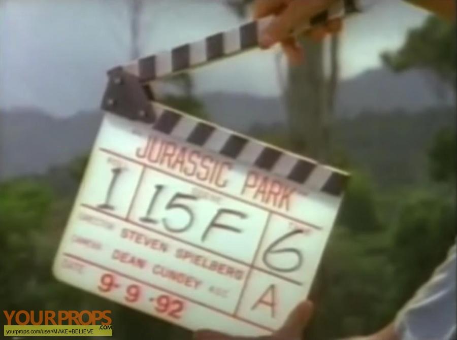 Jurassic Park replica production material