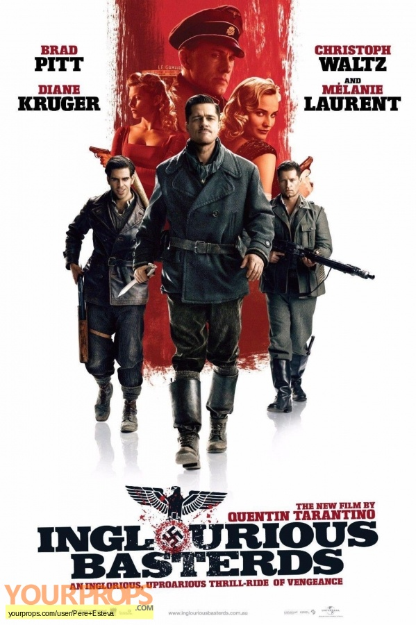 Inglorious Basterds original movie prop