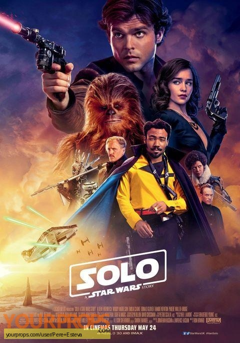 Solo  A Star Wars Story original movie prop weapon