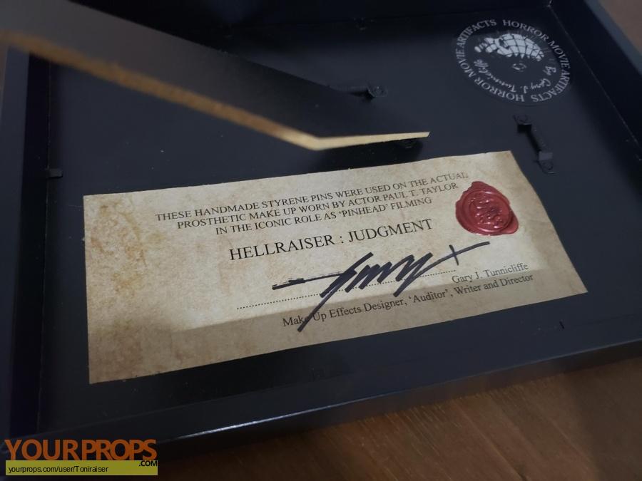 Hellraiser  Judgment original movie prop