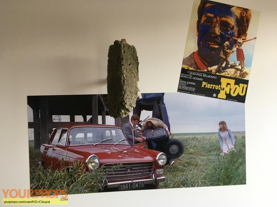 Pierrot le fou F 1965 original set dressing   pieces