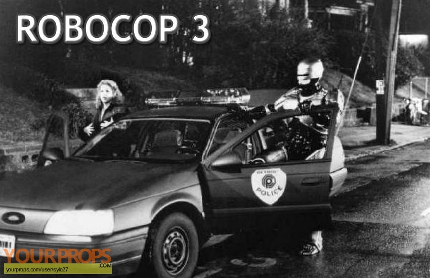 Robocop 3 original set dressing   pieces