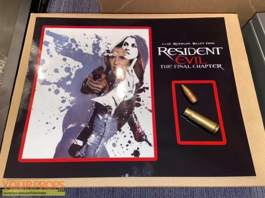 Resident Evil  The Final Chapter original movie prop