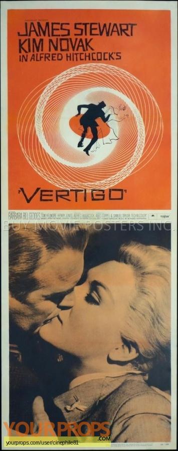 Vertigo original production material