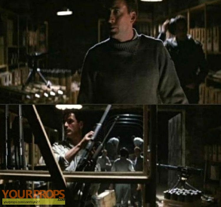 Captain Corellis Mandolin original movie prop weapon
