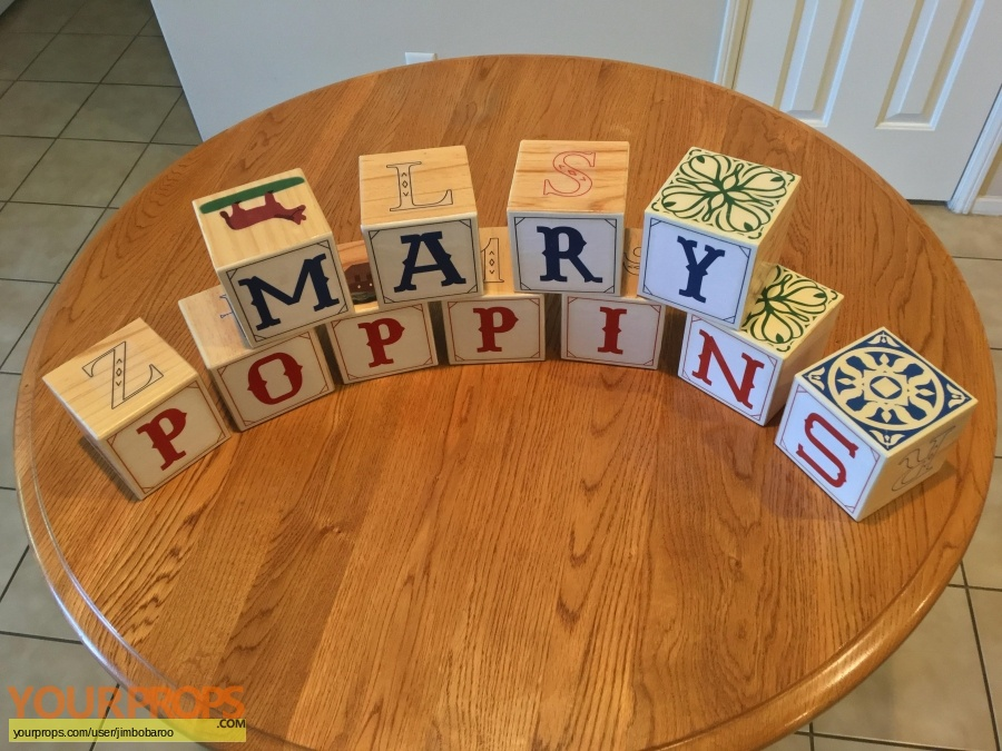 Mary Poppins made from scratch movie prop
