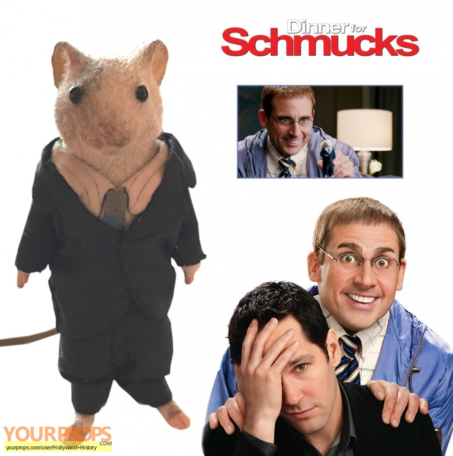 Dinner for Schmucks original movie prop