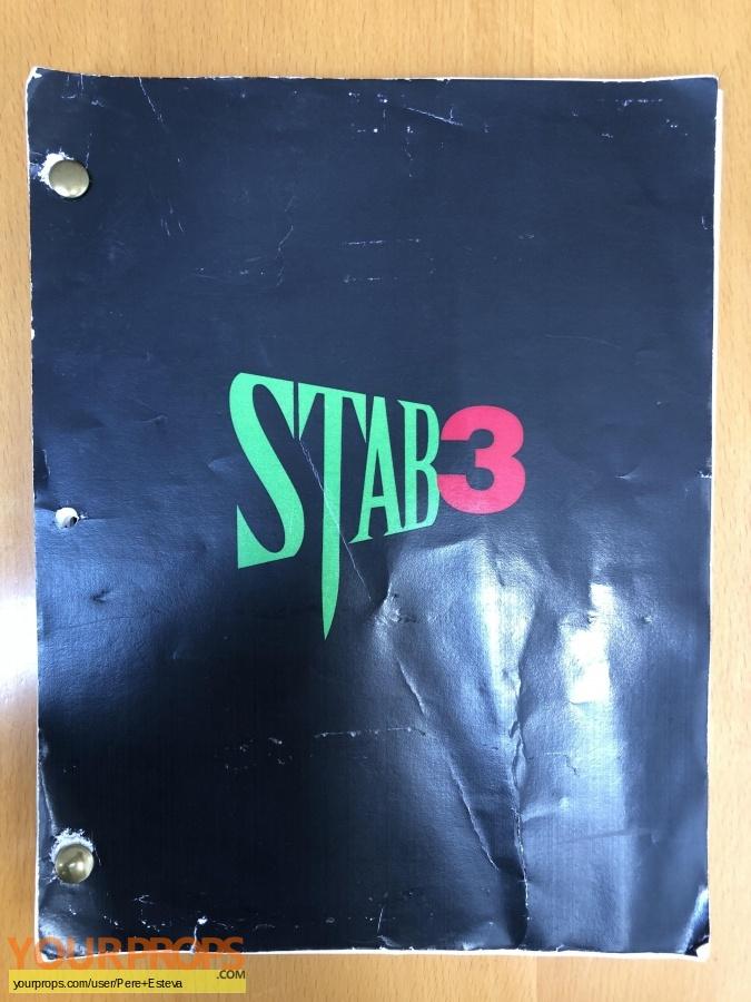 Scream 3 original movie prop