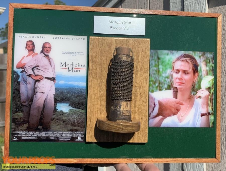 Medicine Man original movie prop