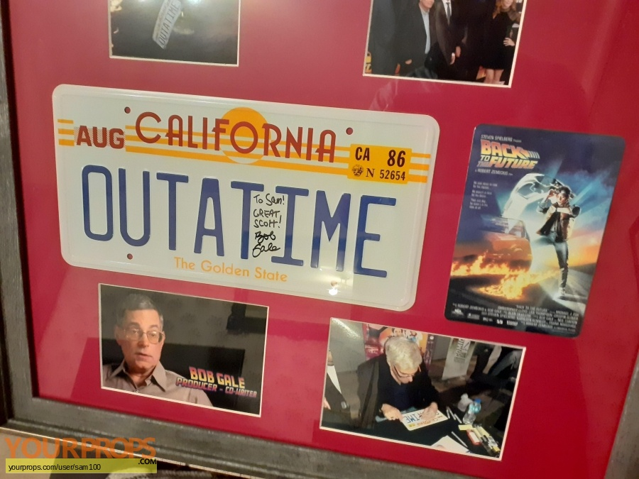 Back To The Future Trilogy Icons Replicas production material