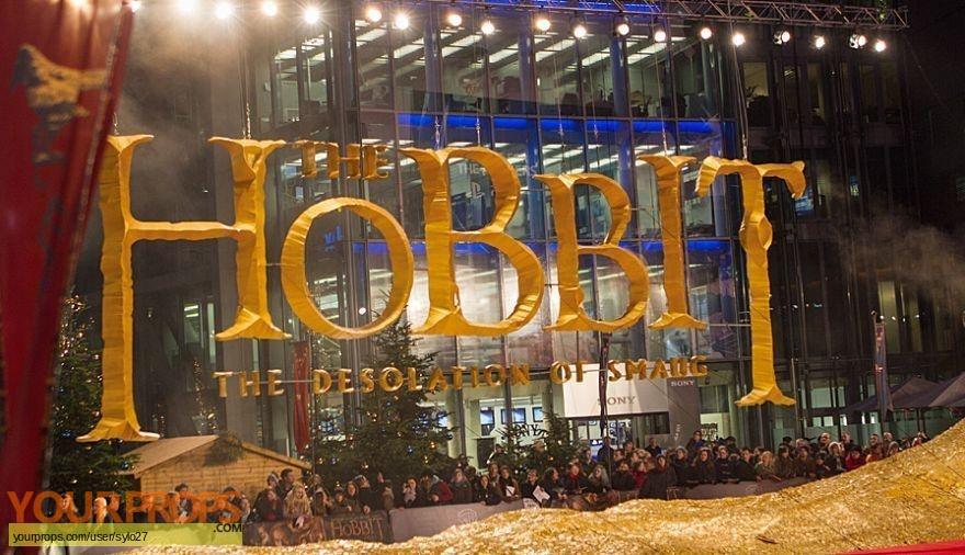 The Hobbit  The Desolation of Smaug original film-crew items
