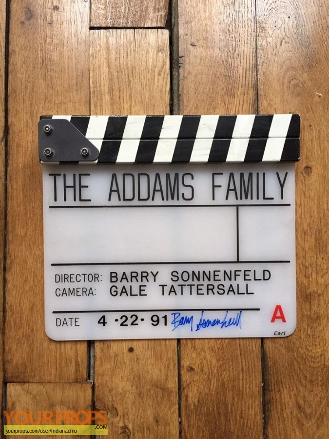 The Addams Family original production material