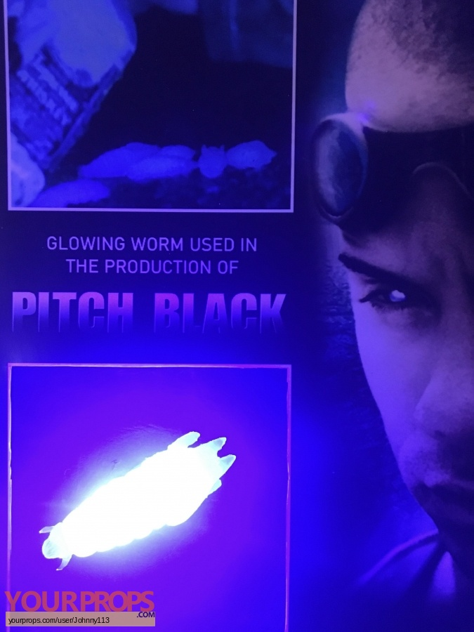 Pitch Black original production material