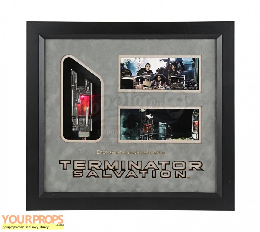 Terminator Salvation original movie prop