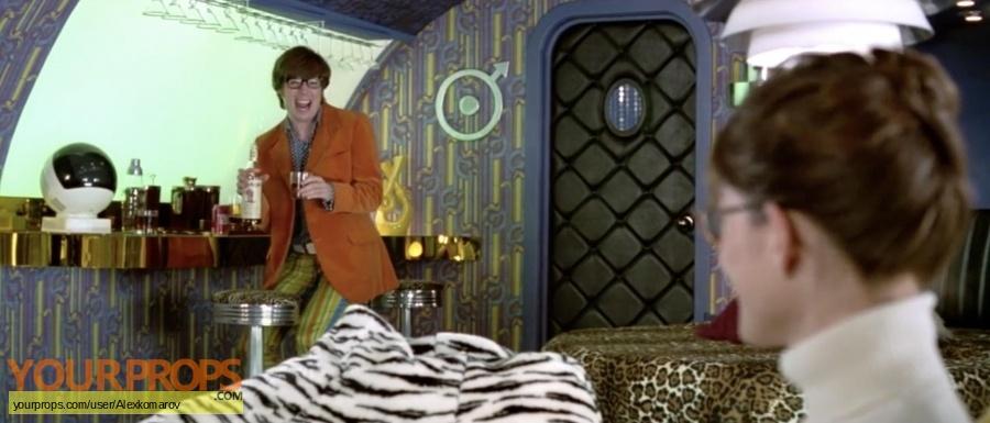 Austin Powers  International Man of Mystery original movie prop