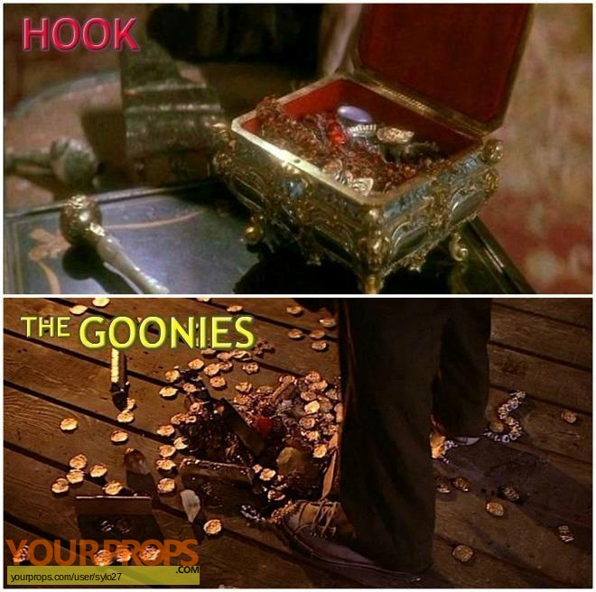 Hook original movie prop