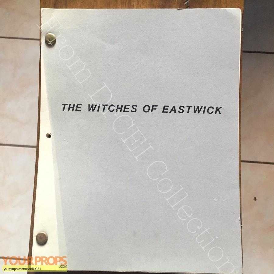 The Witches of Eastwick original production material