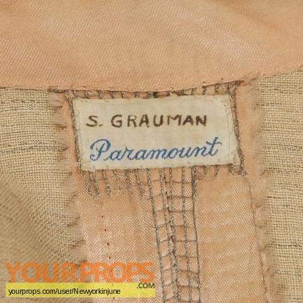 Sid Grauman (Unknown Paramount Film) original movie costume