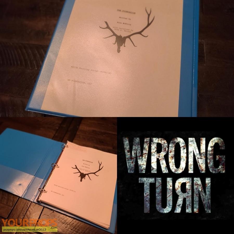 Wrong Turn original production material