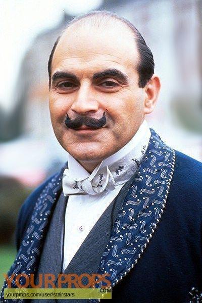 Agatha Christie  Poirot original movie costume