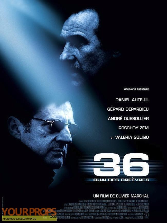 36 Quai des Orfevres replica movie prop