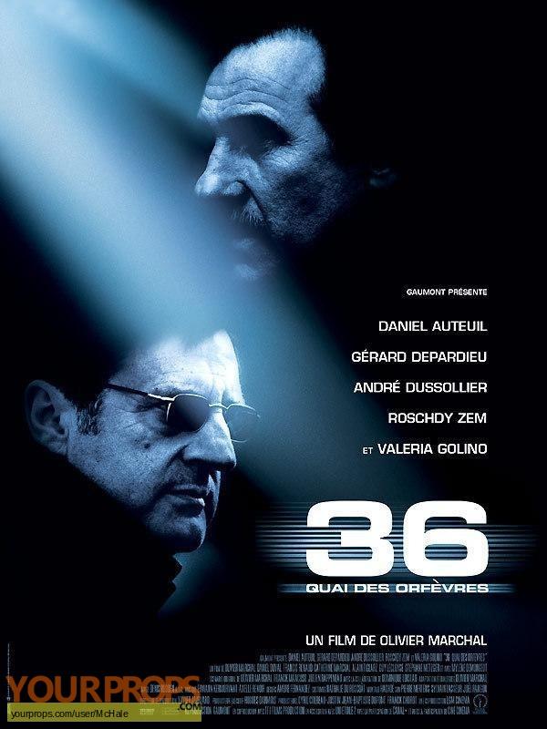 36 Quai des Orf vres replica movie prop