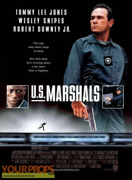 U S  Marshals replica movie prop