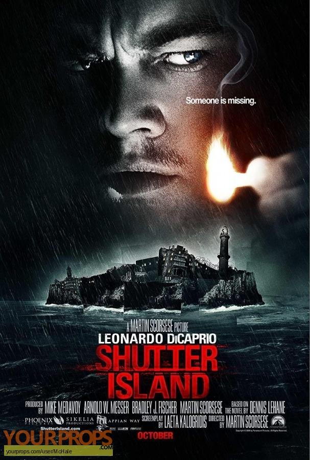 Shutter Island replica movie prop
