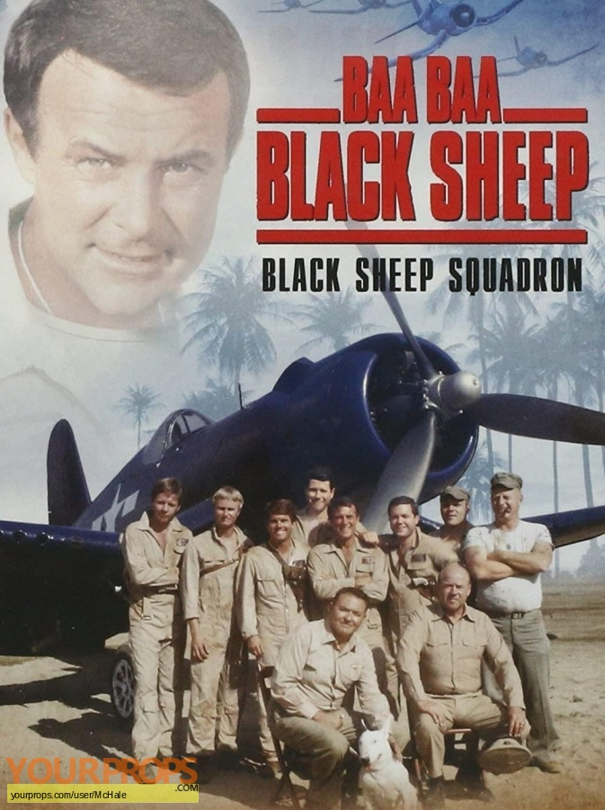 Baa Baa Black Sheep replica movie prop