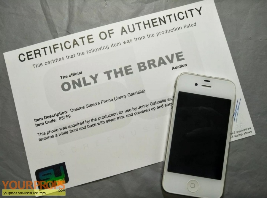 Only the Brave original movie prop