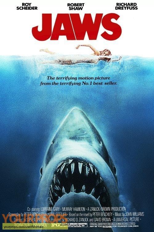 Jaws replica movie prop