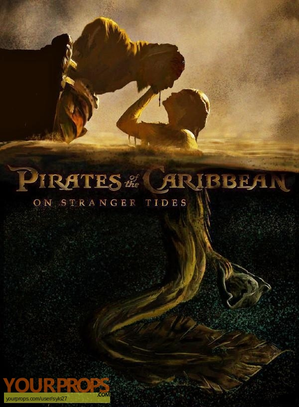 Pirates of the Caribbean  On Stranger Tides original set dressing   pieces