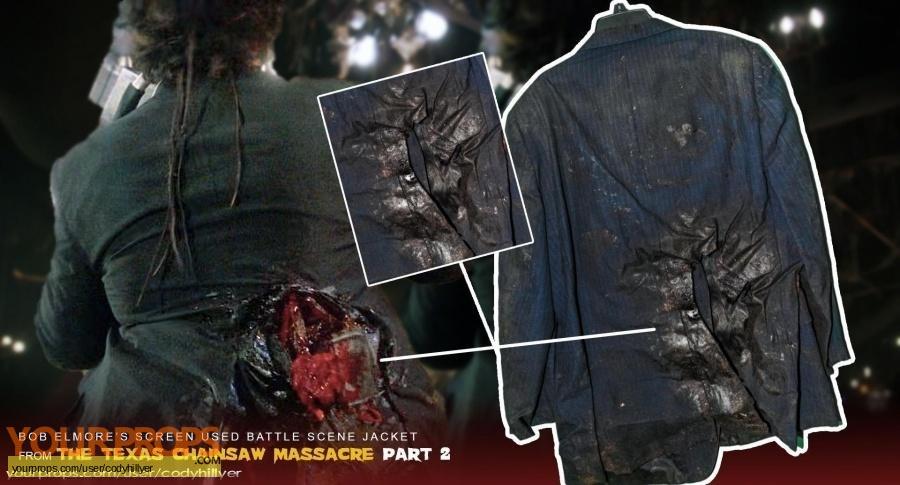The Texas Chainsaw Massacre 2 original movie costume