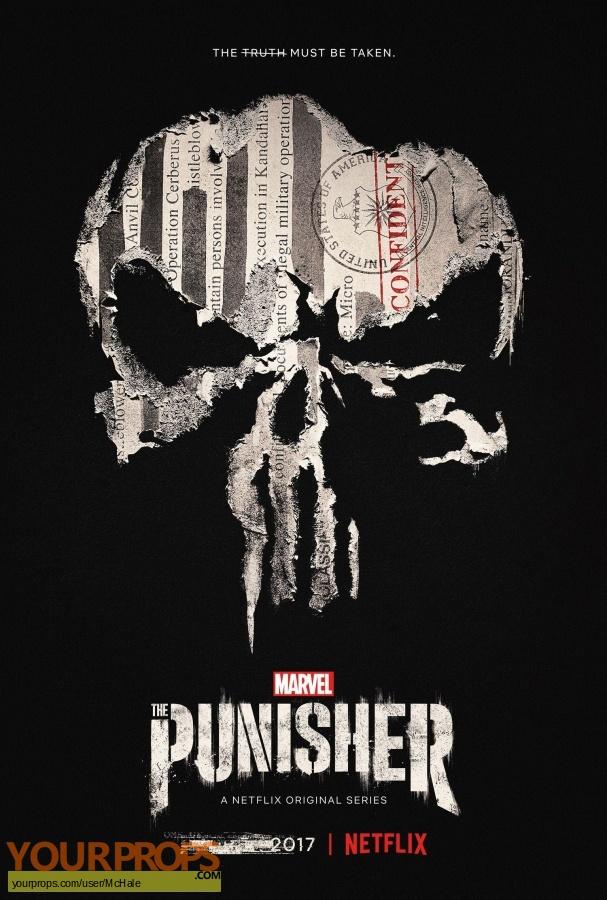 The Punisher replica movie prop