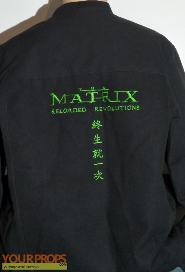 The Matrix Reloaded   Revolutions original film-crew items