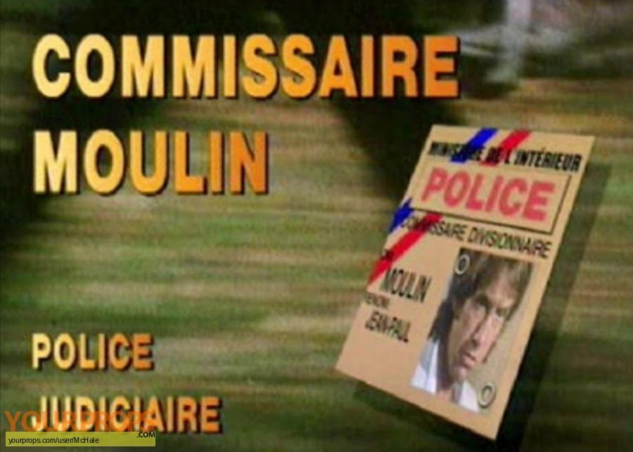 Commissaire Moulin replica movie prop
