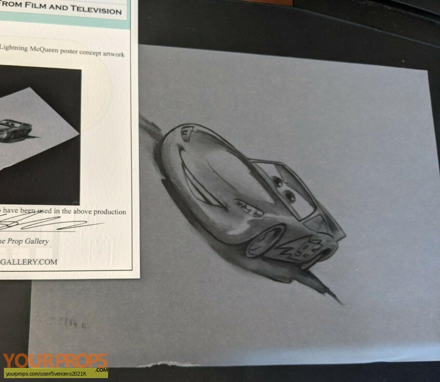 Cars original production artwork