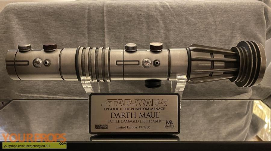 Star Wars Episode 1  The Phantom Menace Master Replicas movie prop