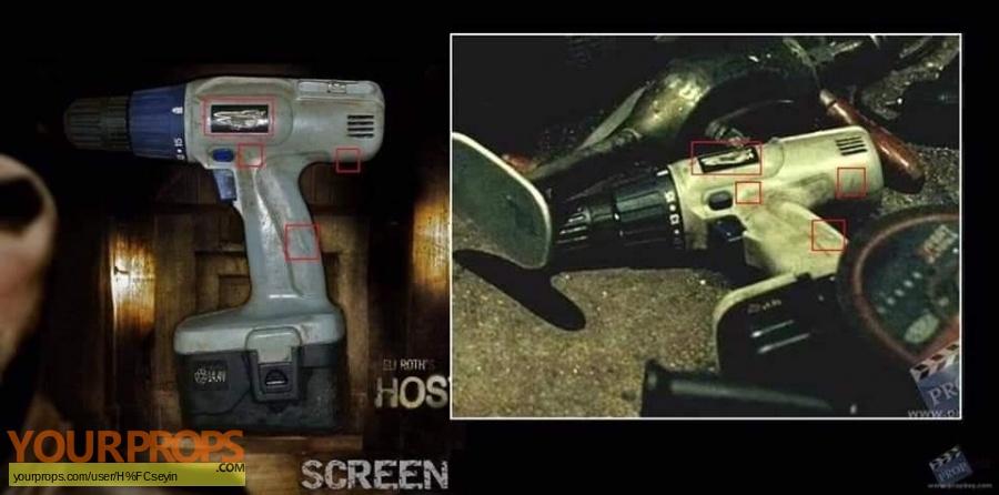 Hostel  Part II original movie prop weapon