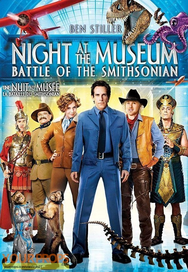 Night at the Museum  Battle of the Smithsonian original production material