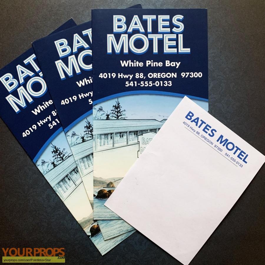 Bates Motel original set dressing   pieces