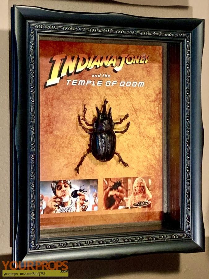 Indiana Jones And The Temple Of Doom original movie prop