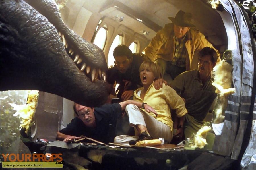 Jurassic Park 3 original production material
